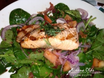 Grilled Salmon Salad-Mena's Food Pics-3