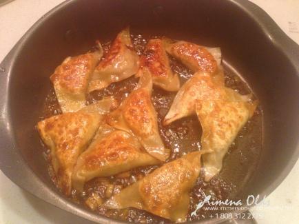 Stir Fry dumplings