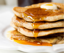 Lemon Vegan pancakes