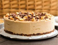 2. Vegan - DESSERTS - Healthy Chocolate Peanut butter raw cheesecake