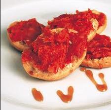 2. Vegan - HORS D'OEUVRES - Vegan sobrasada with pine nuts